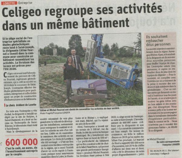 celigeo regroupe ses activites dans un meme batiment